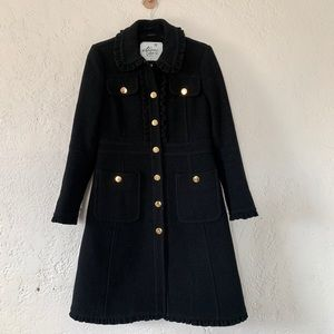 Kate Spade Madison Ave Collection Ruffle coat 4